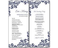 Wedding Party Program Template 09b3a332111c69531101144096bc84bd Jpg