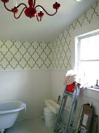 Wallpaper Bathroom Ideas by Magnificent Wallpaper Bathroom Ideas For Small Home Decor