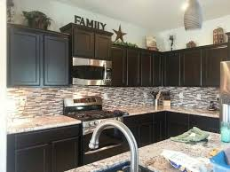 Black Cabinet Kitchen Black Cabinet Tags Decorating Above Kitchen Cabinets Amazing