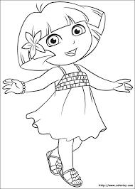 Coloriage Dora lExploratrice choisis tes coloriages Dora l
