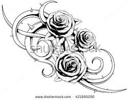rose tattoo stock images royalty free images u0026 vectors shutterstock