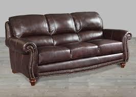 sofa furniture nailhead trim sofa studded leather couch nailhead