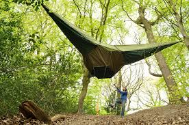 tentsile a hammock style tent suspended from trees by alex