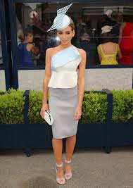nadia bartel attends the lavazza marquee on melbourne cup day at
