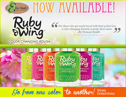 elite nails hand foot and body spa introducing ruby wing color