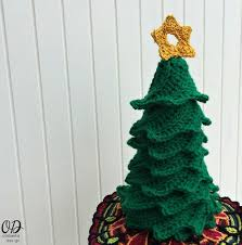easy crochet christmas tree allfreecrochet com