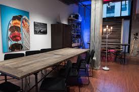 rent art gallery with open floor plan event space rooftop gallery