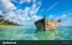 tropical island paradise perfect tropical island paradise beach old stock photo 260727257