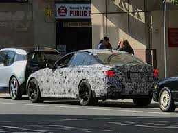 prototype drive 2018 bmw m5 upcoming 2018 bmw m5 goes for a stroll in san francisco