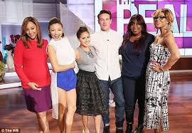 the real co hosts at war after jeannie mai sides with donald