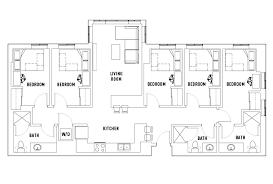 5 bedroom 3 bath floor plans 5 bed 3 bath waitlist landmark housing arbor mi