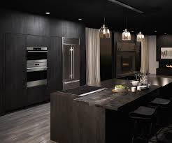 kitchen design kithen island gold faucet black stylish kitchen full size of ceramic induction cooktop black furniture kitchen design contemporary wooden cabinet two level island