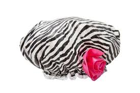 il fiore showercap bath shower cap retro ruffle ebay