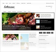 best free theme 15 best simple free premium magazine themes for 2012