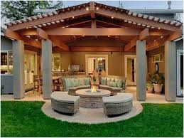 Outdoor Patio Cover Designs Outdoor Covered Patio Ideas Best Products Melissal Gill