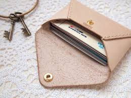 Leather Personalized Business Card Holder Best 25 Leather Card Case Ideas On Pinterest Card Case Leather