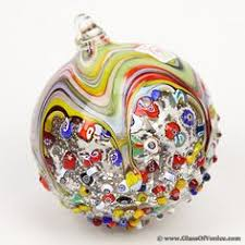 venetian mosaic murano glass ornament available from