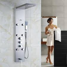 popular thermostatic shower panels buy cheap thermostatic shower