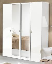 Chambre A Coucher Blanc Design by Armoire 4 Portes Athena Chambre A Coucher Blanc