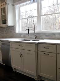 Kitchen Cabinets With Feet White Shaker Cabinets Kitchen Remodeling Photos