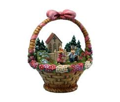 jim shore easter baskets jim shore easter diorama in a decorated easter basket