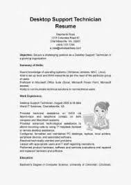 Desktop Support Resume Samples by Computer Technician Resumes Template Technical Support Computer