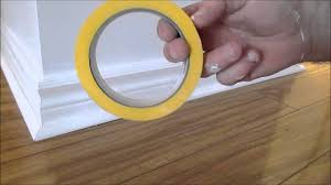 how to paint baseboard trim and walls youtube