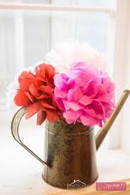 floral tissue paper craftaholics anonymous diy tissue paper flowers tutorial