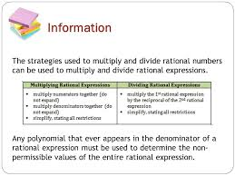 rational expressions topic 2 multiplying and dividing rational