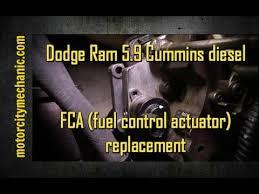 2000 dodge cummins problems dodge ram 5 9 cummins diesel fca fuel actuator