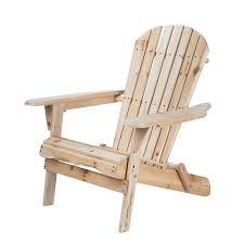 living accents foldable adirondack chair natural mpg ace10fr adirondack rocking chairs ace hardware
