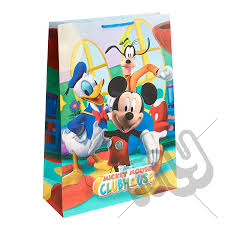 mickey mouse gift bags mickey mouse clubhouse gift bag large x 1pc my carrier