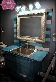 backsplash bathroom ideas bathroom painted plank backsplash hometalk