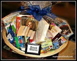 book gift baskets auction and basket item ideas part iii miscellaneous