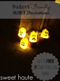 diy free halloween decorations milk jug ghost sweethaute