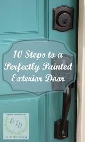 best 25 painted exterior doors ideas on pinterest front door