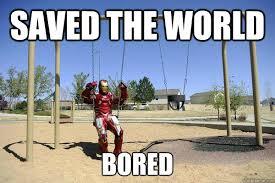 Iron Man Meme - bored iron man memes quickmeme