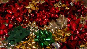 christmas present bows mlewallpapers christmas bows