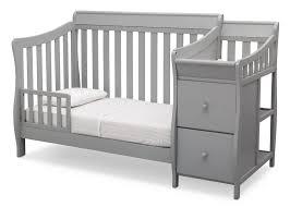 Delta Canton 4 In 1 Convertible Crib Black by Delta Bentley Crib Cribs Decoration