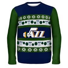 utah jazz nba ugly sweater wordmark