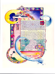 interfaith ketubah the ketubah not just for wedding ceremonies anymore rich