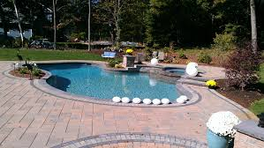 Paver Patio Installation by Paver Pool Patios In Connecticut The Bahler Brothers