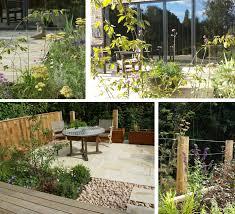 scandinavian style new build sarah ashworth garden design
