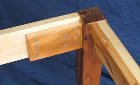 attaching legs to a table building a table