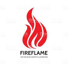 a k s r letter vector logo concept illustration fire sign flame