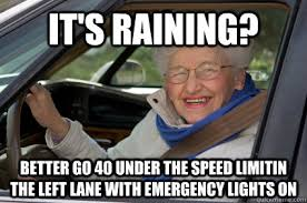 Florida Rain Meme - south florida driver fixed rebrn com