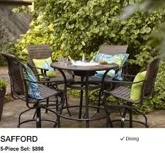 shop patio furniture dining collections at lowe s
