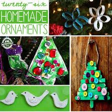 26 homemade ornaments