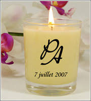 cadeau de mariage personnalis bougies personnalisées alcante cadeau et décoration de mariage