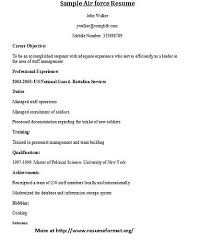 air force officer sample resume information pamphlet template cool